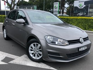 2016 Volkswagen Golf VII MY17 92TSI DSG Trendline 7 Speed Sports Automatic Dual Clutch Hatchback.