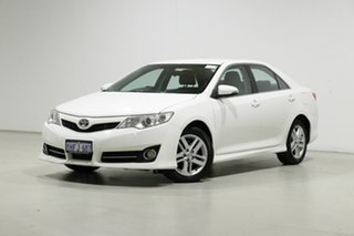 2013 Toyota Camry ASV50R Atara R White 6 Speed Automatic Sedan.