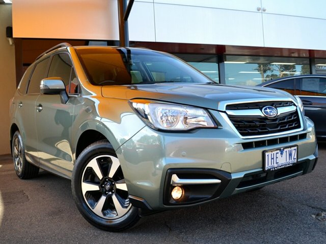 Used Subaru Forester S4 MY16 2.5i-L CVT AWD Fawkner, 2016 Subaru Forester S4 MY16 2.5i-L CVT AWD Jasmine Green 6 Speed Constant Variable Wagon