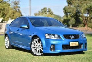 2012 Holden Commodore VE II MY12 SV6 Blue 6 Speed Manual Sedan.