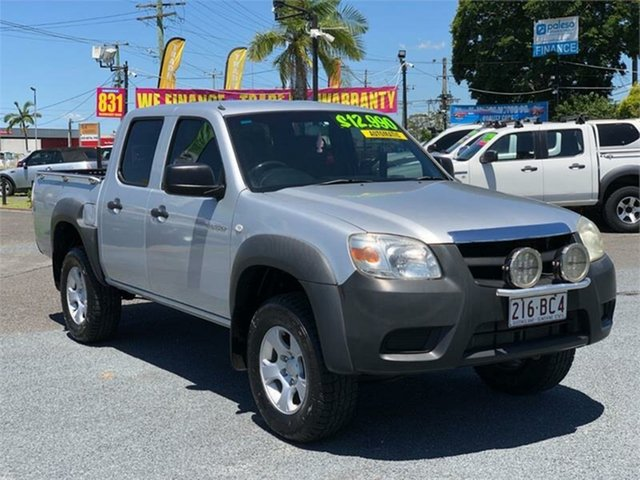 Used Mazda BT-50 UNY0E4 DX Archerfield, 2009 Mazda BT-50 UNY0E4 DX Silver 5 Speed Automatic Utility