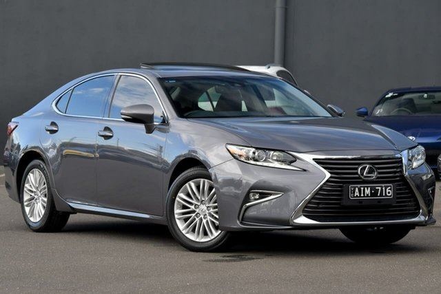 Used Lexus ES GSV60R ES350 Luxury Moorabbin, 2015 Lexus ES GSV60R ES350 Luxury Grey 6 Speed Sports Automatic Sedan