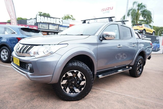 Used Mitsubishi Triton MQ MY16 Upgrade Exceed (4x4) Brookvale, 2016 Mitsubishi Triton MQ MY16 Upgrade Exceed (4x4) Grey 5 Speed Automatic Dual Cab Utility