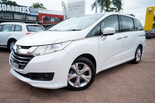 2014 Honda Odyssey RC VTi White Continuous Variable Wagon.
