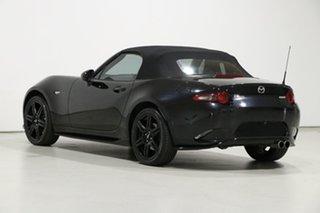 2016 Mazda MX-5 ND (K) MY17 Roadster GT Black 6 Speed Manual Convertible