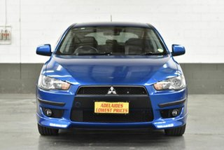 2008 Mitsubishi Lancer CJ MY09 VR-X Sportback Blue 5 Speed Manual Hatchback.