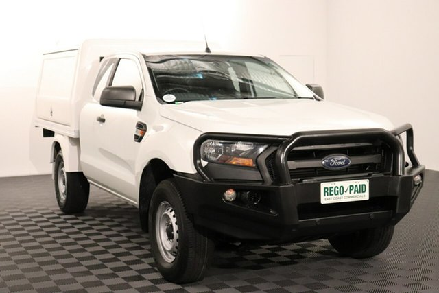 Used Ford Ranger PX MkII XL Acacia Ridge, 2017 Ford Ranger PX MkII XL White 6 speed Automatic Cab Chassis