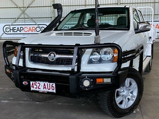 2010 Holden Colorado RC MY10 LT-R Crew Cab White 4 Speed Automatic Utility.