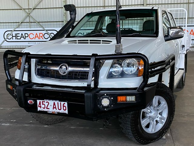 Used Holden Colorado RC MY10 LT-R Crew Cab Rocklea, 2010 Holden Colorado RC MY10 LT-R Crew Cab White 4 Speed Automatic Utility