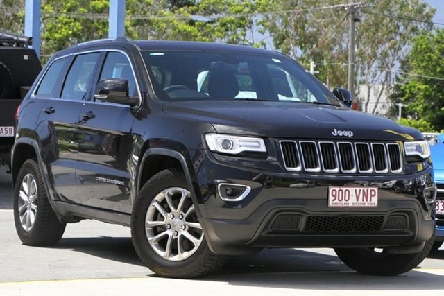 Used Jeep Grand Cherokee WK MY2014 Laredo Aspley, 2014 Jeep Grand Cherokee WK MY2014 Laredo Black 8 Speed Sports Automatic Wagon