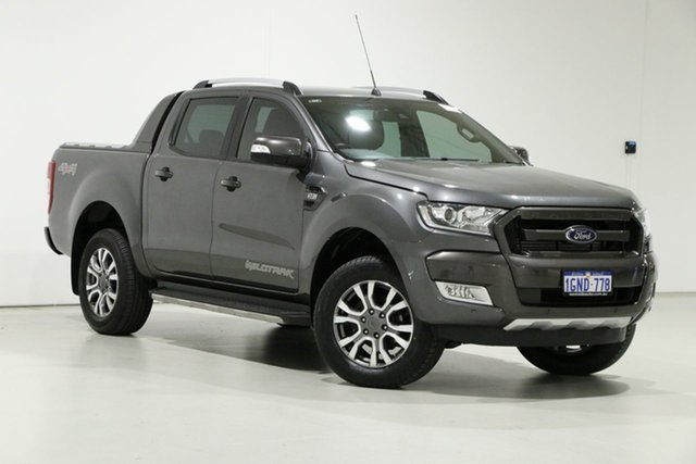 Used Ford Ranger PX MkII MY17 Update Wildtrak 3.2 (4x4) Bentley, 2017 Ford Ranger PX MkII MY17 Update Wildtrak 3.2 (4x4) Graphite 6 Speed Automatic Dual Cab Pick-up