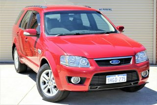 2010 Ford Territory SY MkII TS AWD Red 6 Speed Sports Automatic Wagon.
