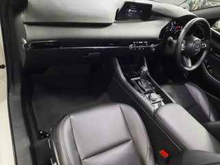2019 Mazda 3 BP2H7A G20 SKYACTIV-Drive Touring White 6 Speed Sports Automatic Hatchback