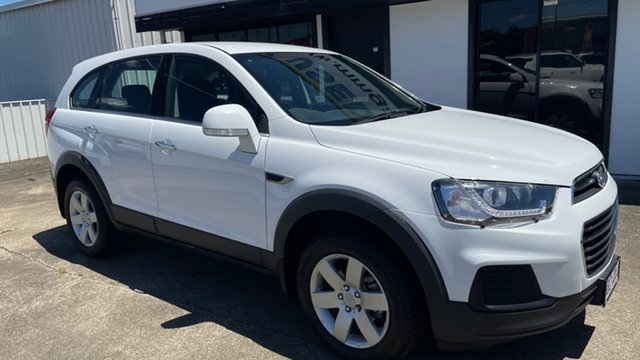 Used Holden Captiva CG MY17 LS 2WD Moorooka, 2017 Holden Captiva CG MY17 LS 2WD White 6 Speed Sports Automatic Wagon