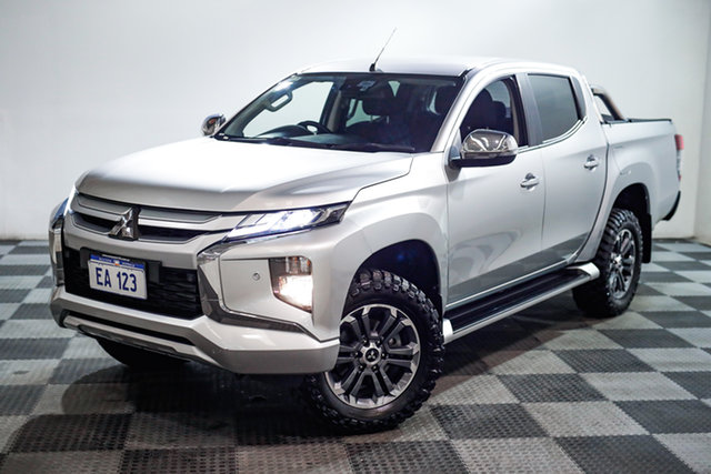 Used Mitsubishi Triton MR MY20 GLS Double Cab Edgewater, 2019 Mitsubishi Triton MR MY20 GLS Double Cab Silver 6 Speed Sports Automatic Utility