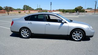 2005 Nissan Maxima J31 MY05 TI Silver 4 Speed Automatic Sedan.