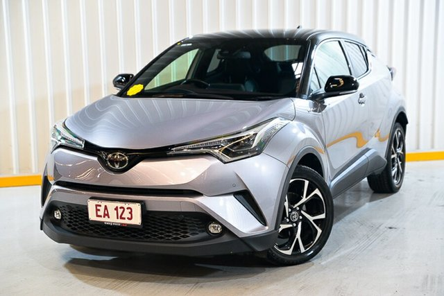 Used Toyota C-HR NGX10R Koba S-CVT 2WD Hendra, 2018 Toyota C-HR NGX10R Koba S-CVT 2WD Silver 7 Speed Constant Variable Wagon