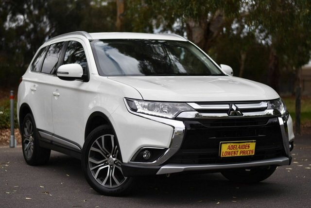 Used Mitsubishi Outlander ZK MY17 LS 2WD Melrose Park, 2017 Mitsubishi Outlander ZK MY17 LS 2WD White 6 Speed Constant Variable Wagon