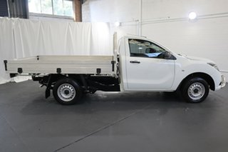 2016 Mazda BT-50 MY16 XT Hi-Rider (4x2) White 6 Speed Manual Cab Chassis