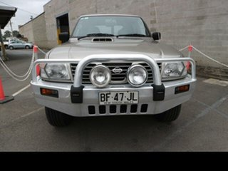 2001 Nissan Patrol GU II ST (4x4) Gold 4 Speed Automatic 4x4 Wagon