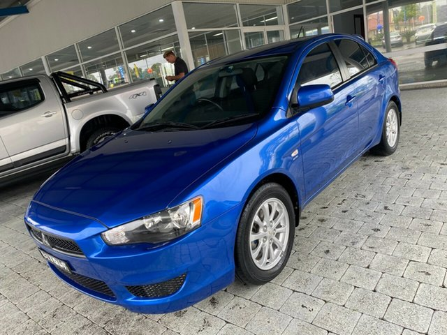 Used Mitsubishi Lancer SX Taree, 2011 Mitsubishi Lancer SX Blue Constant Variable Hatchback