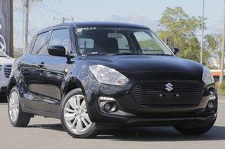 2019 Suzuki Swift AZ GL Navigator Super Black Pearl 1 Speed Constant Variable Hatchback.