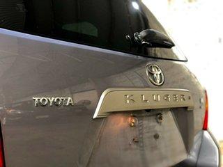 2009 Toyota Kluger GSU40R Altitude 2WD Grey 5 Speed Sports Automatic Wagon