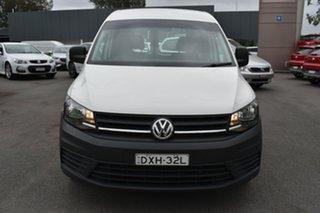 2017 Volkswagen Caddy 2KN MY17.5 TSI220 SWB DSG White 7 Speed Sports Automatic Dual Clutch Van