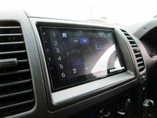 2008 Nissan Navara D40 ST-X Black 4 Speed Automatic Dual Cab