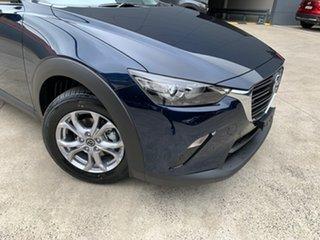 2020 Mazda CX-3 DK2W76 Maxx SKYACTIV-MT FWD Sport Deep Crystal Blue 6 Speed Manual Wagon.