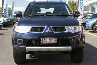 2012 Mitsubishi Challenger PB (KH) MY12 LS Blue 5 Speed Sports Automatic Wagon.