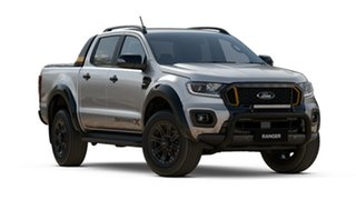 2021 Ford Ranger PX MkIII 2021.25MY Wildtrak Aluminium Silver 6 Speed Sports Automatic