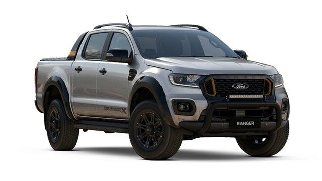 New Ford Ranger PX MkIII 2021.25MY Wildtrak Tanunda, 2021 Ford Ranger PX MkIII 2021.25MY Wildtrak Aluminium Silver 6 Speed Sports Automatic