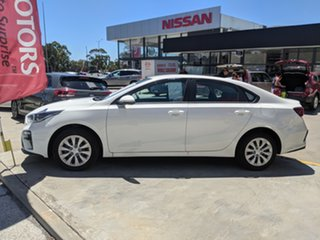 2020 Kia Cerato BD MY20 S Clear White 6 Speed Manual Sedan.