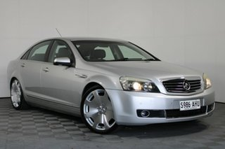 2007 Holden Statesman WM Silver 5 Speed Sports Automatic Sedan.