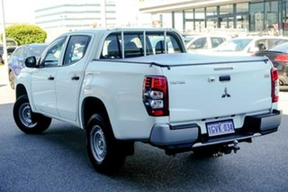 2019 Mitsubishi Triton MR MY20 GLX Double Cab 4x2 ADAS White 6 Speed Sports Automatic Utility.