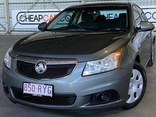 2011 Holden Cruze JH Series II MY11 CD Grey 6 Speed Sports Automatic Sedan.