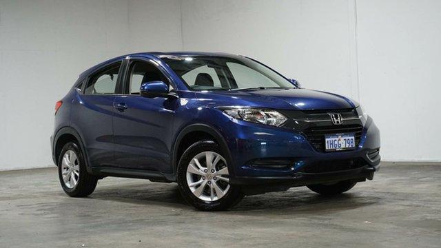 Used Honda HR-V MY18 VTi Welshpool, 2018 Honda HR-V MY18 VTi Blue 1 Speed Constant Variable Hatchback