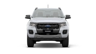 2021 Ford Ranger PX MkIII 2021.25MY Wildtrak Arctic White 10 Speed Sports Automatic.