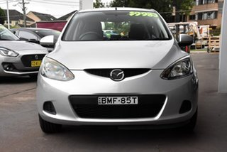 2009 Mazda 2 DE10Y1 Neo Silver 4 Speed Automatic Hatchback