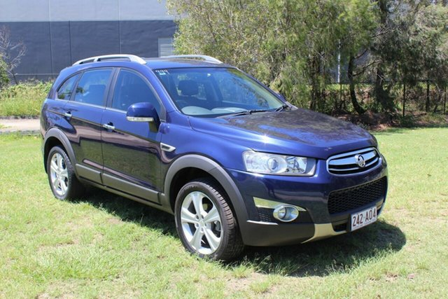 Used Holden Captiva CG Series II MY12 7 AWD LX Ormeau, 2012 Holden Captiva CG Series II MY12 7 AWD LX Blue 6 Speed Sports Automatic Wagon