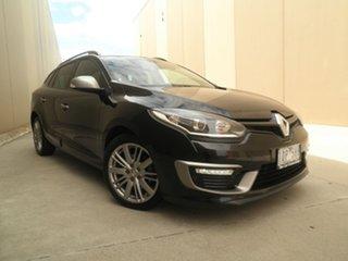 2014 Renault Megane III K95 Phase 2 GT-Line Sportwagon EDC Black Metallic 6 Speed.