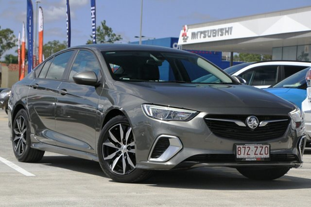 Used Holden Commodore ZB MY18 RS Liftback Aspley, 2018 Holden Commodore ZB MY18 RS Liftback Grey 9 Speed Sports Automatic Liftback