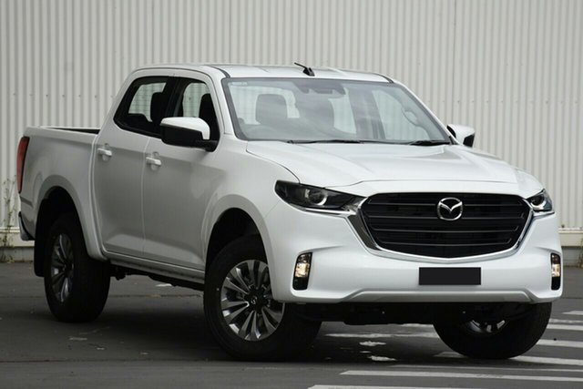 New Mazda BT-50 TFS40J XT North Rockhampton, 2020 Mazda BT-50 TFS40J XT Ice White 6 Speed Manual Utility