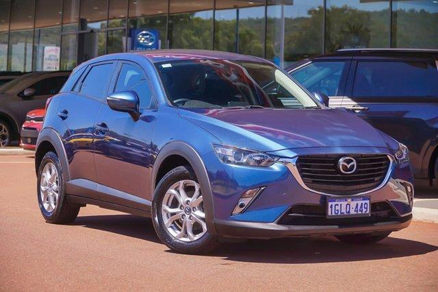 Used Mazda CX-3 DK2W7A Maxx SKYACTIV-Drive Gosnells, 2017 Mazda CX-3 DK2W7A Maxx SKYACTIV-Drive Blue 6 Speed Sports Automatic Wagon