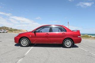 2004 Mitsubishi Lancer CH ES Maroon 4 Speed Automatic Sedan