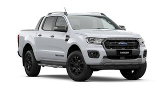 2021 Ford Ranger PX MkIII 2021.25MY Wildtrak Arctic White 10 Speed Sports Automatic