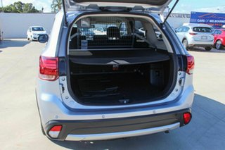 2017 Mitsubishi Outlander ZK MY17 LS 2WD Safety Pack Silver 6 Speed Constant Variable Wagon