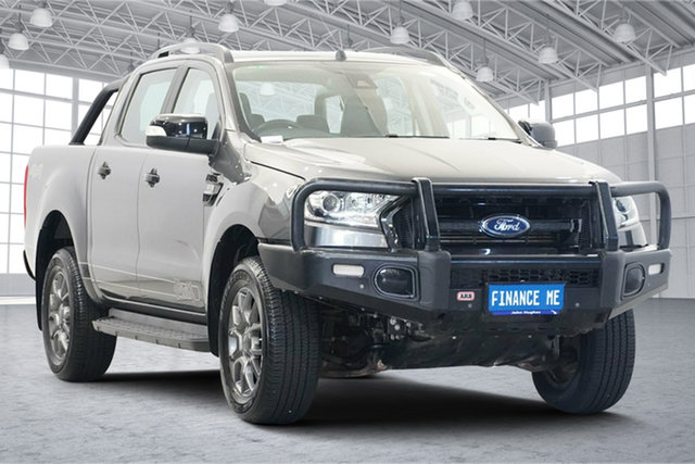 Used Ford Ranger PX MkII FX4 Double Cab Victoria Park, 2017 Ford Ranger PX MkII FX4 Double Cab Grey 6 Speed Manual Utility