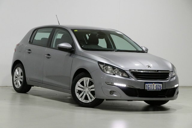 Used Peugeot 308 T9 MY18 Active Bentley, 2017 Peugeot 308 T9 MY18 Active Grey 6 Speed Automatic Hatchback